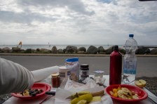 Breakfast at the sea