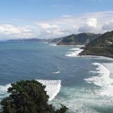 Spanish North coast between San Sebastian and Bilbao